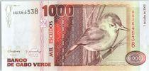 Cape Verde 1000 Escudos - Warbler - 2002