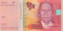 Cape Verde 200 Escudos Henrique Teixera de Sousa - 2019 (2021) - UNC