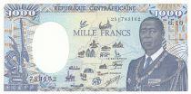 Central African Republic 1000 Francs - 1990 - P.16 - aUNC