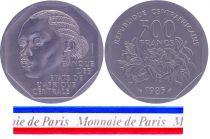 Central African Republic 500 Francs - 1985 - Test strike