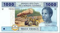Central African States 1000 Francs 2002 (2017) -  U = Cameroon - UNC - P.207 Uf