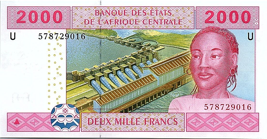 Central African States 2000 Francs 2002 (2017) -  U = Cameroon - UNC - P.208 Uf