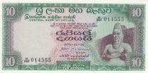 Ceylan 10 Rupees - Roi Parakkrama - 1975 - Neuf - P.74c