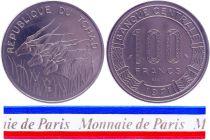 Chad 100 Francs - 1971 - Test strike