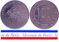 Chad 100 Francs - 1975 - Test strike