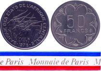 Chad 50 Francs - 1976 - Test strike