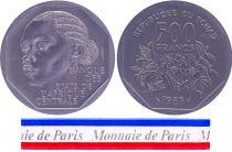 Chad 500 Francs - 1985 - Test strike