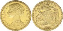Chile 1 Peso 1990 - Bernardo O\'Higgins
