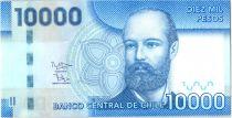 Chile 10000 Pesos Capt Arturo Prat - 2014 (2017)