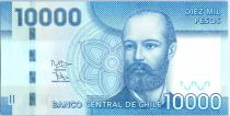 Chile 10000 Pesos Cpt. de Fragata Don Arturo Prat - 2012