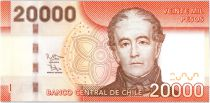Chile 20000 Pesos Don Andres Bello - 2016 (2017)
