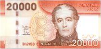 Chile 20000 Pesos Don Andres Bello - 2016 (2017)