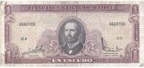 Chili 1 Escudo 1964 - Arturo Prat, Explorateurs - O.6