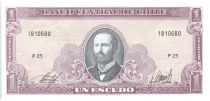 Chili 1 Escudo 1964 - Arturo Prat, Explorateurs - P.25