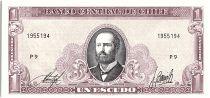 Chili 1 Peso Arturo Prat - 1964