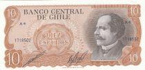 Chili 10 Escudos 1976 - J.M. Balmaceda, cavalerie