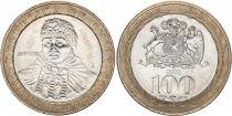 Chili 100 Escudos - Femme mapuche - 2003 - SUP