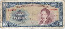 Chili 100 Escudos 1962-1975 - Manuel Rengifo, Navires anciens - C 12