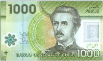 Chili 1000 Pesos I. Carrera Pinto -  2014 Polymer