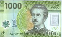 Chili 1000 Pesos I. Carrera Pinto -  2015 (2017) Polymer