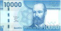 Chili 10000 Pesos Capt Arturo Prat - 2012