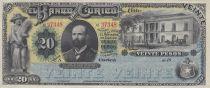 Chili 20 Pesos Banco de Curico - 18xx (1882) - p.Neuf - S.220