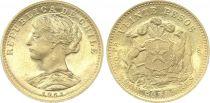 Chili 20 Pesos République - Armoiries 1961