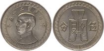 China 5 Cents - SYS - 1940-41