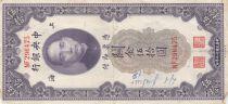 China 50 Customs Gold Units, Port. SYS - 1930