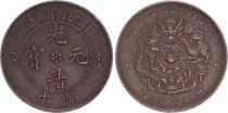 China China, Hu-Peh (Hubei) - 10 Cash 1902-1905 - F to VF