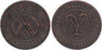 China Republic of China, Hunan - 20 Cash 1919 - VF