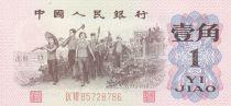 Chine 1 Jiao Ouviers - 1962