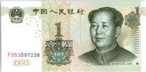 Chine 1 Yuan 2009(2017) - Mao Tse Toung, lac - Nouveau type