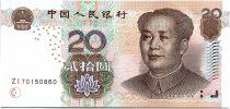 Chine 20 Yuan Mao - Rivière 2005 - Neuf - P.905