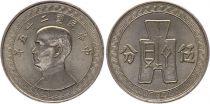 Chine 5 Cents - Portrait de SYS - 1940-41
