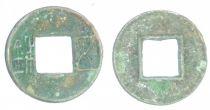 Chine Wu Zhu, Monnaie Dynastie des Han