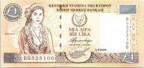 Chypre 1 Pound Chypriote - Artisanat - 2004