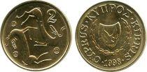 Chypre 2 Cent Chèvres - 1998