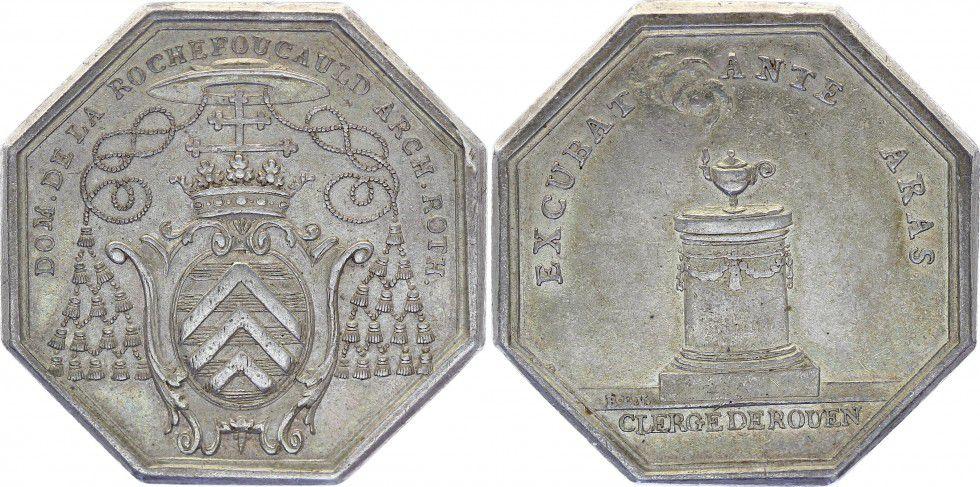 Clergé de Rouen - de la Rochefoucaud - Vers 1765