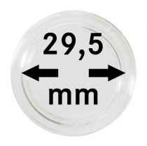 Coin capsules 29.50 mm pack of 10