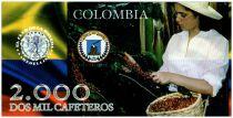 Colombia (Club de Medellin) 2000 Cafeteros, Colombia : Birds - Harvesting Coffee - 2013