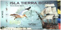 Colombia (Club de Medellin) 2000 Cafeteros, Isla Tierra Bomba : Boat Seagull - Fort of San Fernando - 2014