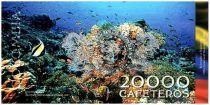Colombia (Club de Medellin) 20000 Cafeteros, Islas del Rosario : Boat Pink flemish - Coral - 2014