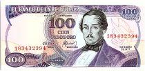 Colombia 100 Peso Oro, Gal Santander - 1977