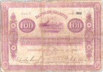 Colombia 100 Pesos Mountains 1900