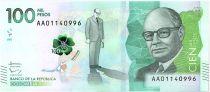 Colombia 100000 Pesos C. Lleras Restrepo - 2014 (16)