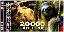 Colombie (Club de Medellin) 20000 Cafeteros, Colombia : Paresseux - 2014