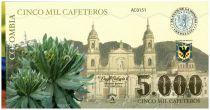 Colombie (Club de Medellin) 5000 Cafeteros, Colombia : Cathédrale - Monument - 2013