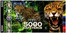 Colombie (Club de Medellin) 5000 Cafeteros, Colombia : Jaguar - 2014