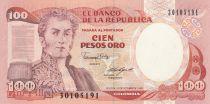 Colombie 100 Pesos 1988